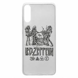 Чехол для Samsung A70 Led-Zeppelin Art