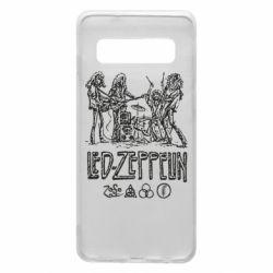 Чехол для Samsung S10 Led-Zeppelin Art