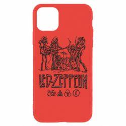Чехол для iPhone 11 Led-Zeppelin Art