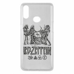 Чехол для Samsung A10s Led-Zeppelin Art
