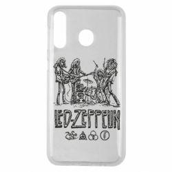 Чехол для Samsung M30 Led-Zeppelin Art