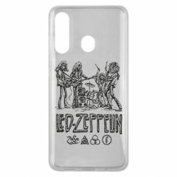 Чехол для Samsung M40 Led-Zeppelin Art