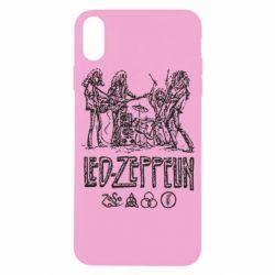 Чехол для iPhone X/Xs Led-Zeppelin Art