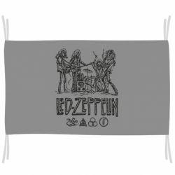 Флаг Led-Zeppelin Art