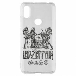 Чехол для Xiaomi Redmi S2 Led-Zeppelin Art