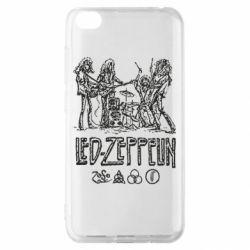 Чехол для Xiaomi Redmi Go Led-Zeppelin Art