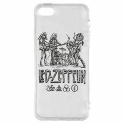 Чехол для iPhone5/5S/SE Led-Zeppelin Art
