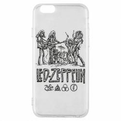 Чехол для iPhone 6/6S Led-Zeppelin Art