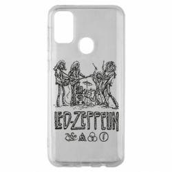 Чехол для Samsung M30s Led-Zeppelin Art