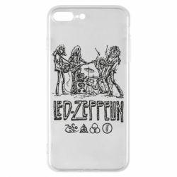 Чехол для iPhone 7 Plus Led-Zeppelin Art