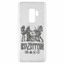 Чехол для Samsung S9+ Led-Zeppelin Art