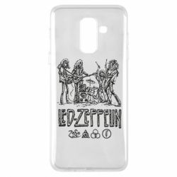 Купить Led Zeppelin, Чехол для Samsung A6+ 2018 Led-Zeppelin Art, FatLine