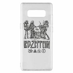 Чехол для Samsung Note 8 Led-Zeppelin Art