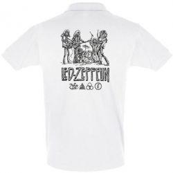 Футболка Поло Led-Zeppelin Art