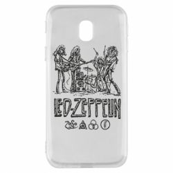 Чехол для Samsung J3 2017 Led-Zeppelin Art