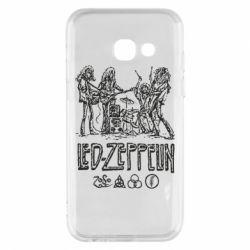 Чехол для Samsung A3 2017 Led-Zeppelin Art