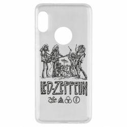 Чехол для Xiaomi Redmi Note 5 Led-Zeppelin Art