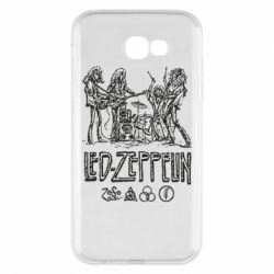 Чехол для Samsung A7 2017 Led-Zeppelin Art
