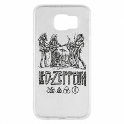 Чехол для Samsung S6 Led-Zeppelin Art