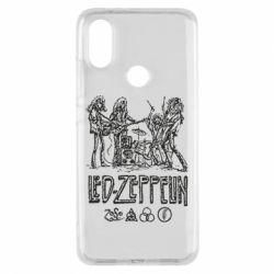 Чехол для Xiaomi Mi A2 Led-Zeppelin Art