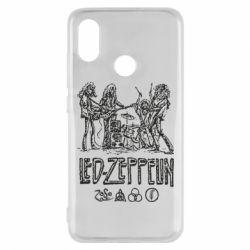Чехол для Xiaomi Mi8 Led-Zeppelin Art