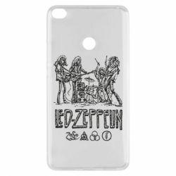 Чехол для Xiaomi Mi Max 2 Led-Zeppelin Art