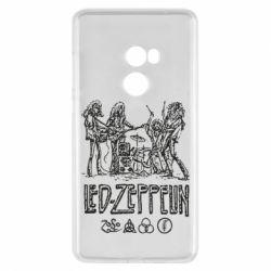 Чехол для Xiaomi Mi Mix 2 Led-Zeppelin Art