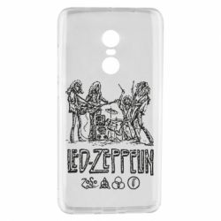 Чехол для Xiaomi Redmi Note 4 Led-Zeppelin Art