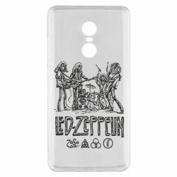 Чехол для Xiaomi Redmi Note 4x Led-Zeppelin Art