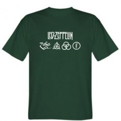 Футболка Led-Zeppelin Logo