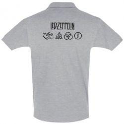 Футболка Поло Led-Zeppelin Logo