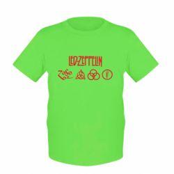 Детская футболка Led-Zeppelin Logo