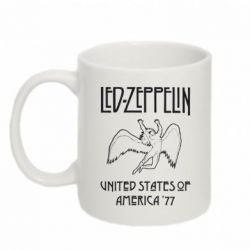 Кружка 320ml Led Zeppelin United States of America 77 - FatLine