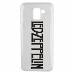 Чохол для Samsung J6 Led Zeppelin