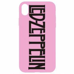 Чохол для iPhone XR Led Zeppelin