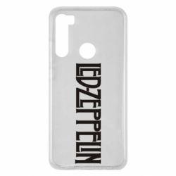 Чохол для Xiaomi Redmi Note 8 Led Zeppelin