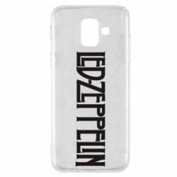 Чохол для Samsung A6 2018 Led Zeppelin