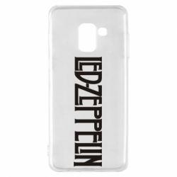 Чохол для Samsung A8 2018 Led Zeppelin