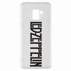 Чохол для Samsung A8+ 2018 Led Zeppelin