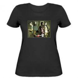 Женская футболка Left 4 Dead 2 - FatLine