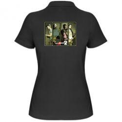 Женская футболка поло Left 4 Dead 2 - FatLine