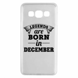 Чехол для Samsung A3 2015 Legends are born in December