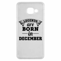 Чехол для Samsung A3 2016 Legends are born in December