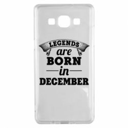 Чехол для Samsung A5 2015 Legends are born in December