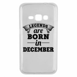 Чехол для Samsung J1 2016 Legends are born in December