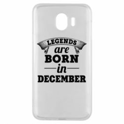 Чехол для Samsung J4 Legends are born in December