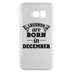 Чехол для Samsung S6 EDGE Legends are born in December