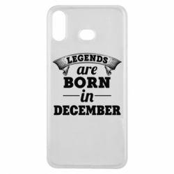 Чехол для Samsung A6s Legends are born in December