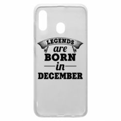 Чехол для Samsung A30 Legends are born in December