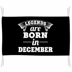 Флаг Legends are born in December